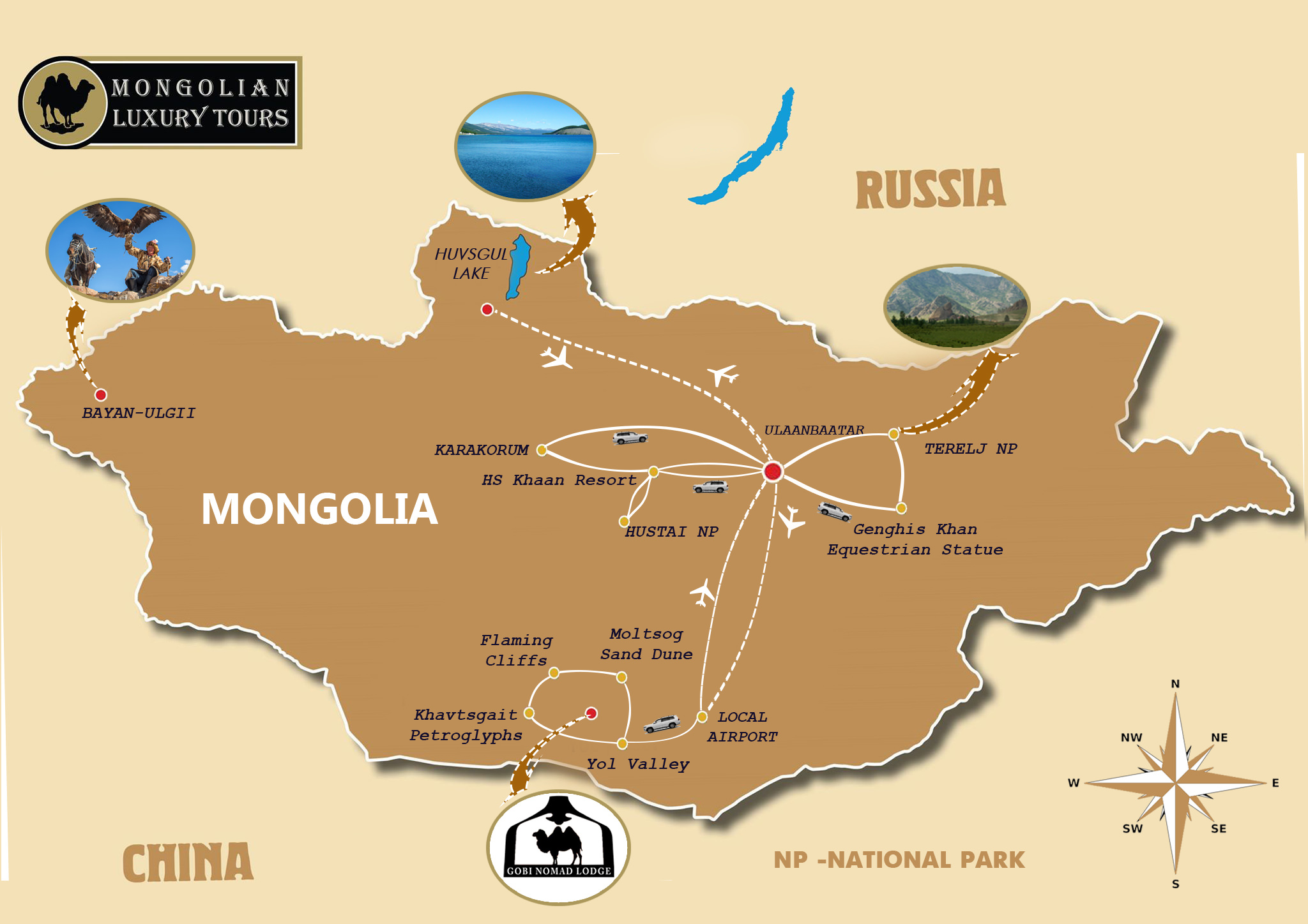 Highlights of Mongolia 12 days